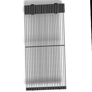 Светодиодный экран для медиафасада, kingaurora, 16,6 Р.мм, B, 7500Кд, 1200Гц, 620Вт, IP65, 1500X15X80мм