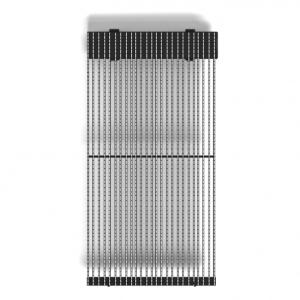Светодиодный экран для медиафасада, Absen, 31,25 Р.мм, 4500Кд, 1200Гц, 525Вт, IP65, 750 x 125мм
