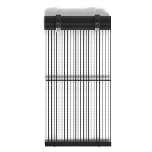 Светодиодный экран для медиафасада, GLUX, 10,42 Р.мм, MOth, 1200Кд, 1200Гц, 300Вт, IP65, 500 x 125мм